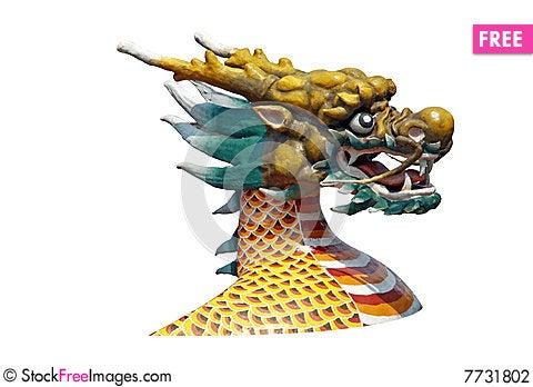 Free Dragon Head Stock Photography - 7731802