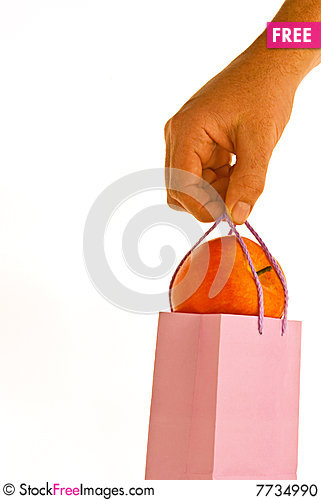 Lunchbag Stock Photo