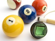 Free Billiards Royalty Free Stock Image - 7730116