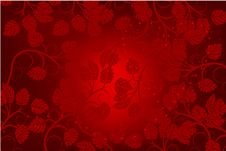 Free Valentines Day Background With Heart Royalty Free Stock Photos - 7730128