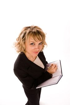 Free Attractive Businesswoman Stock Image - 7730251