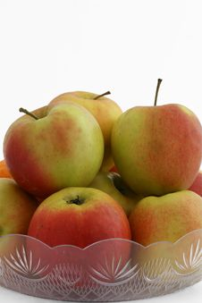 Free Fresh Apples In The Bowl Royalty Free Stock Photos - 7730378