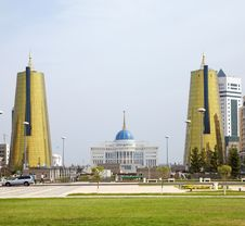 Free Astana Presidential Palace Royalty Free Stock Photography - 7730507