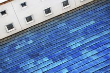 Free Blue Roof Royalty Free Stock Photos - 7730538