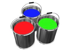 Free Buckets Royalty Free Stock Photos - 7730898