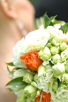 Free Bouquet From Roses Royalty Free Stock Images - 7731909