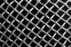 Free Texture Of Microphone Wire Netting Stock Images - 7733254
