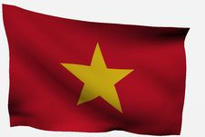 Free Vietnam 3d Flag Stock Photos - 7733413