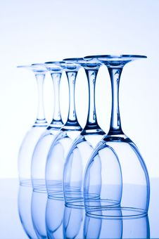 Free Blue Glass Royalty Free Stock Photos - 7733768