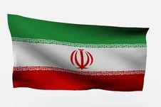 Free Iran 3d Flag Royalty Free Stock Photography - 7733837