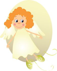 Free Little Angel Royalty Free Stock Photography - 7733877