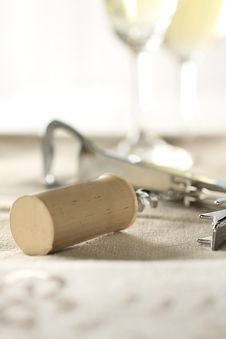 Free Cork Screw Royalty Free Stock Photography - 7735557