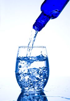 Free Glasses With Water Royalty Free Stock Photo - 7735565