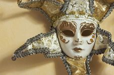 Free Beautiful Venetian Mask Royalty Free Stock Photo - 7735825