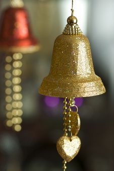 Free Bell Ornaments Royalty Free Stock Photography - 7735907