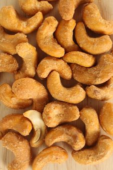 Free Cashew Nut Texture Stock Photography - 7736482