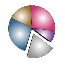 Free Multicolor Statistics Stock Photo - 7736690