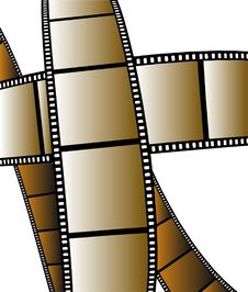 Free Isolated Movie/photo Film Royalty Free Stock Image - 7736696
