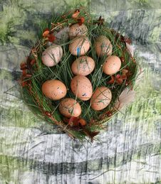 Free Easter Eggs Stock Photography - 7736822
