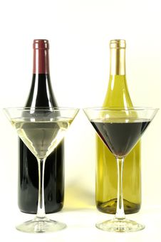 Free Red And White Wine Stock Photography - 7737052