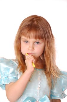 Free Brushing Teeth Stock Images - 7737254