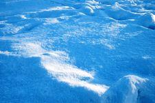 Free Tracks Sprinkled Snow Royalty Free Stock Image - 7737376