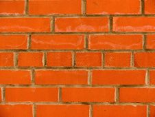Free Relief On A Brick Surface Stock Photo - 7737530