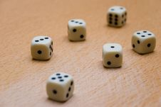 Free Dices Royalty Free Stock Photography - 7737667