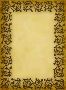 Free Background Old Frame Royalty Free Stock Photos - 7737688