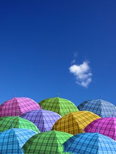 Free Waiting Rain From The Clear Sky Royalty Free Stock Photo - 7738005