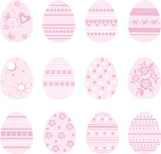 Free Easter Eggs Royalty Free Stock Photography - 7738797
