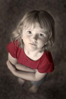 Free Little Girl Portrait Royalty Free Stock Image - 7739146