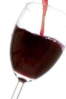 Free Glass Red Wine Stock Photo - 7739180
