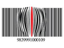 Free Zoomed Bar Code Stock Photo - 7739440
