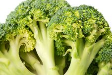 Free Green Broccoli (brassica Oleracea) Royalty Free Stock Image - 7739566