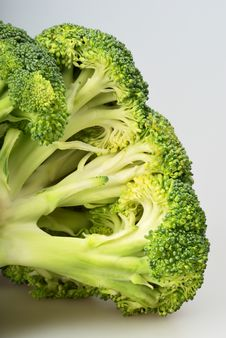 Free Green Broccoli (brassica Oleracea) Royalty Free Stock Images - 7739569