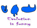 Free Evolution Is Funny Stock Photography - 7741782