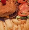 Free Hamburger Deluxe Royalty Free Stock Photo - 7746845
