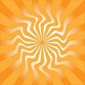 Free Orange Sunburst Vector Illustration Stock Photography - 7749062