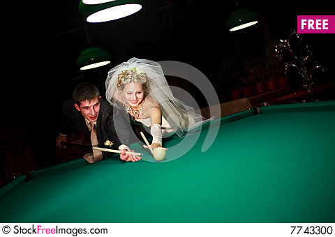 Free Play Billiard Stock Photo - 7743300