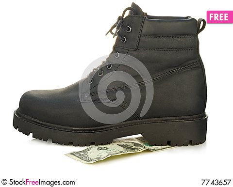 Free Rough Boot Royalty Free Stock Photography - 7743657