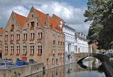 Bruges Canal Royalty Free Stock Photography