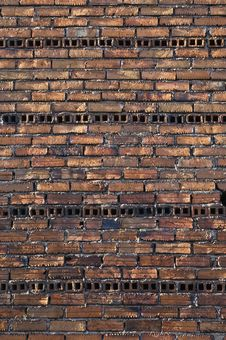 Free Rugged Brick Wall Stock Images - 7741704