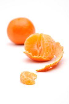 Free Half-peeled Tangerine Stock Image - 7742161