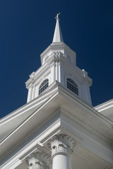 Free Downtown Church Spire Stock Photo - 7742170
