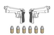 Free Guns Royalty Free Stock Images - 7742289