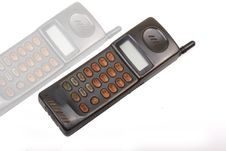 Free Old Mobile Phone. Stock Photos - 7742293