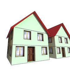 Free Isolated House Stock Photo - 7742300