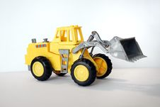 Toy Front Loader Royalty Free Stock Photo