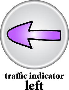 Free Traffic Indicator - Left Sign Royalty Free Stock Photo - 7743005